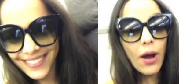 Emilly se irrita com atitude de companhia aérea, grava vídeo para rede social, e é criticada
