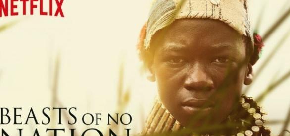 Beasts of No Nation (2015) Netflix Original movie starrring Abraham Atta and Idris Elba- whats-on-netflix.com