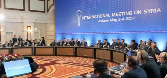 Il recente meeting sulla questione siriana che si è svolto per la quarta volta ad Astana, in Kazakistan