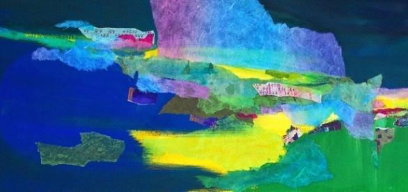 Sueim Koo's art seeks to create visual representations of the soul. / Photo via Sueim Koo, used with permission.