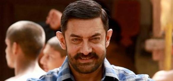 A still of Aamir Khan from 'Dangal' movie