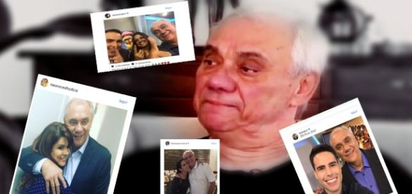 Marcelo Rezende recebe mensagens de apoio - Google