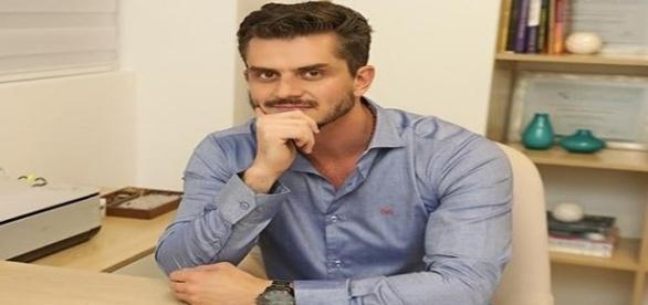 Marcos Harter é assunto nas redes sociais