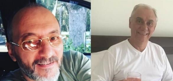 Britto Jr. esquece as desavenças do passado e manda mensagem de apoio a Marcelo Rezende