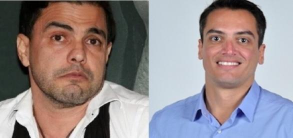Cantor briga na Justiça com jornalista de celebridades (Foto: Montagem/ Reprodução)