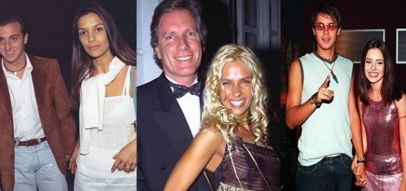 Casais famosos que estavam na mídia nos anos 90