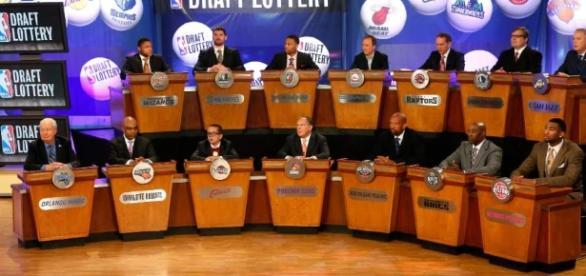 The NBA Draft Lottery special will be shown Tuesday night on ESPN. [Image via Blasting News image library/sltrib.com]