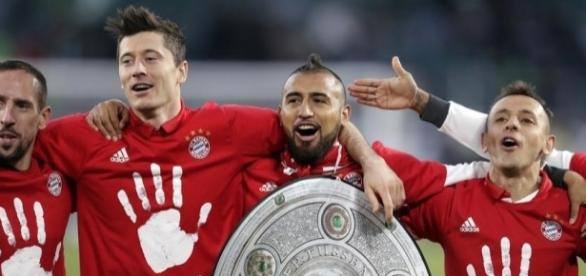 Bayern Munich were the class of the Bundesliga again - winning a fifth straight title. (Source: whio.com