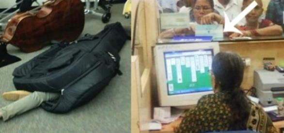 Essas pessoas realizaram atos impróprios (Foto: Google)