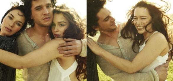 Kit Harington's rumored girlfriend, Emilia Clarke