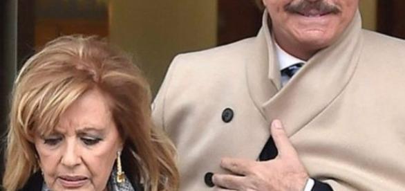 María teresa Campos hospitalizada por una isquemia cerebral (foto de archivo)