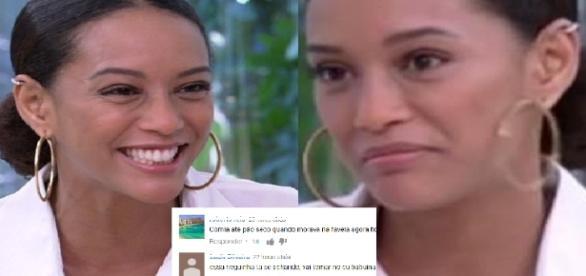 'Não é sobre abóbora, é sobre racismo'. Assim tratou uma página que recebeu a denúncia de racismo contra Taís Araújo