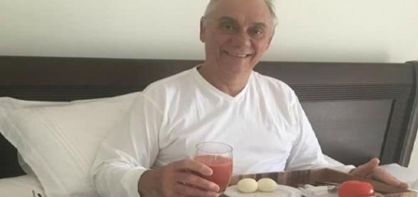 Para endocrinologista Ney Cavalcanti, cenário do apresentador Marcelo Rezende é muito crítico.