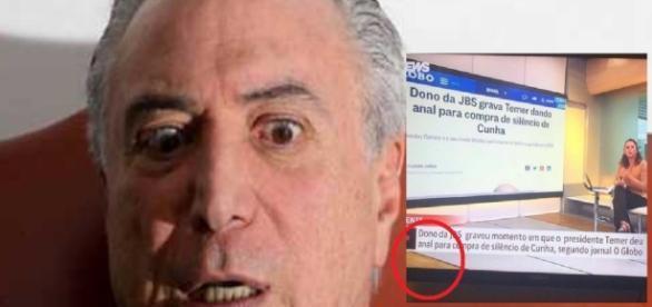 Canal de notícia da Globo cometeu gafe - Google