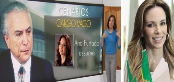 Internet elege Ana Furtado como sucessora de Temer - Google