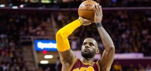 James has struggled with his free throw shot for most of the season - cavsnation.com
