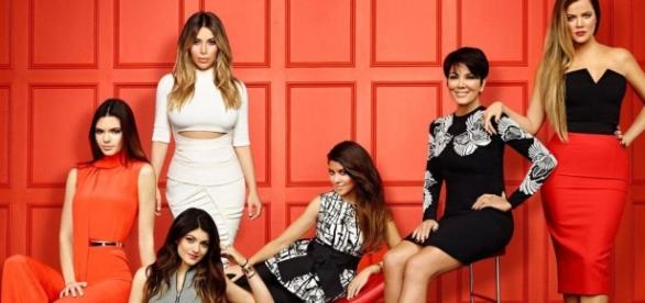 Keeping up with the Kardashians promo photo via BN library