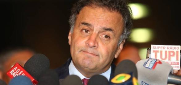 O senador Aécio Neves poderá ser preso