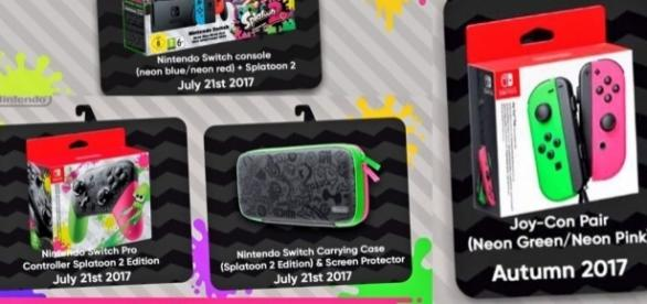 Splatoon 2 Switch Bundle Headed to Europe | Shacknews - shacknews.com