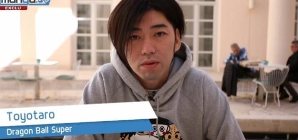 Toyotaro en entrevista con Mangatv