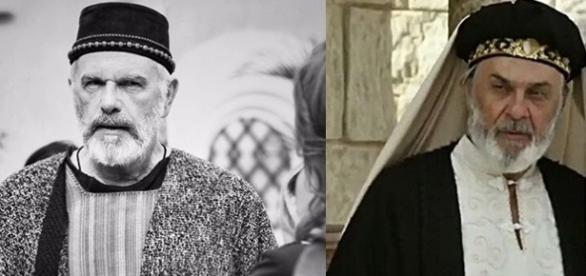 Chaim e o sacerdote Fassur se divertem na Casa da Lua em 'O Rico e Lázaro'