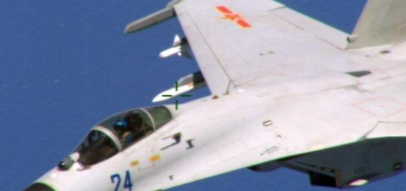 Chinese Jet Threatened U.S. Intelligence Aircraft - transasianaxis.com