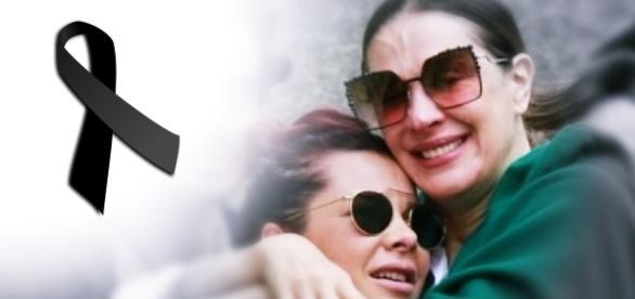 Claudia Raia e amigos vão a enterro - Google