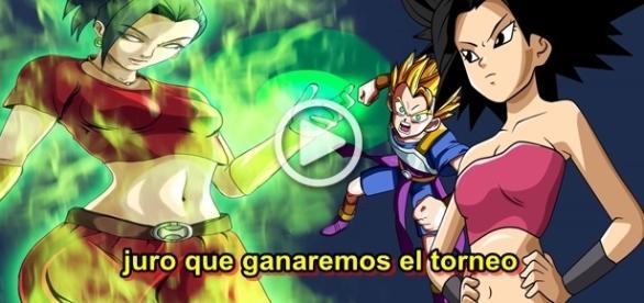 Dragon Ball Super 92 Kale se transforma en super saiyajin