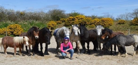 Gran Bretagna: il viaggio di Emma e dei suoi cavalli per mare