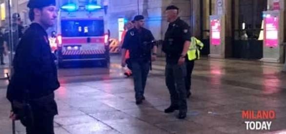 Milano, stazione centrale, accoltellati 2 militari e un poliziotto