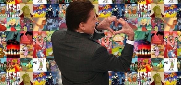 O apresentador afirma que os desenhos são uma parte importante de sua emissora