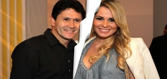 Tati estava casada com Gian há dez anos após conhecer cantor nos bastidores da TV