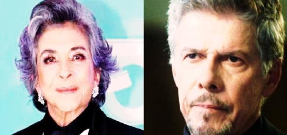 Betty Faria defende José Mayer - Google