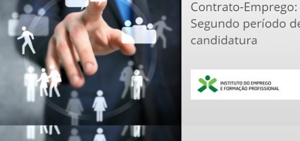 Contrato-Emprego: Candidaturas abertas.