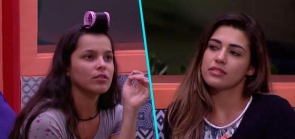 Emilly e Vivian têm realidades diferentes fora da casa