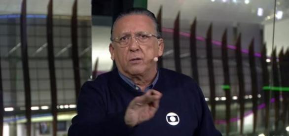 Galvão Bueno criticou Felipe Melo