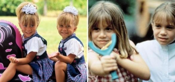 Mary-Kate e Ashley Olsen fizeram sucesso no cinema