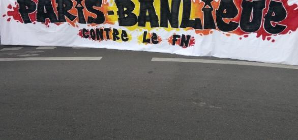 Paris-Banlieue contre le FN, le 16 avril 2017.