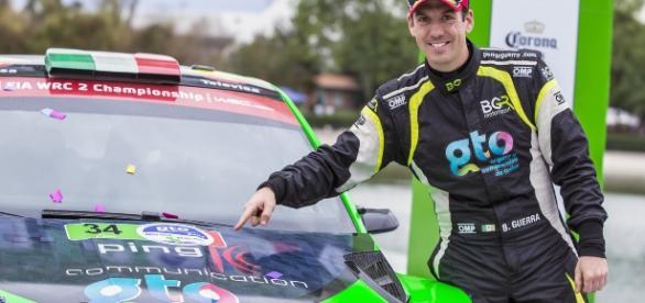 segundo podio en la temporada para Benito Guerra