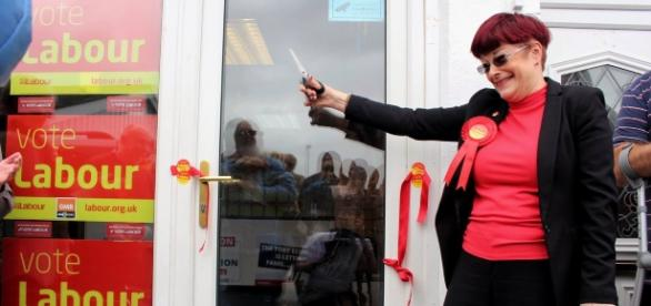 Sonia Barker Officially Opens Labour's Waveney Office
