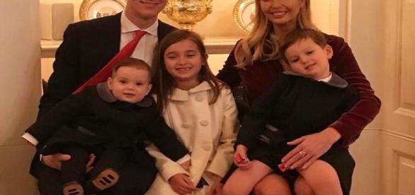 Ivanka Trump, Jared Kushner and children / Photo via Ivanka Trump , Instagram
