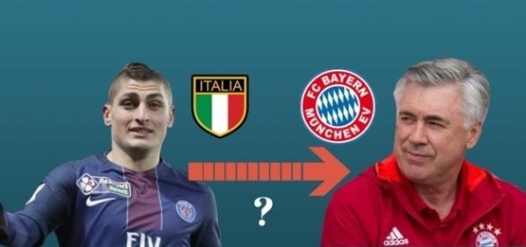 La situation Verratti Bayern Munich