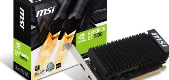 MSI GeForce GT 1030 LP Heatsink 2GB - Free Shipping - South Africa - evetech.co.za