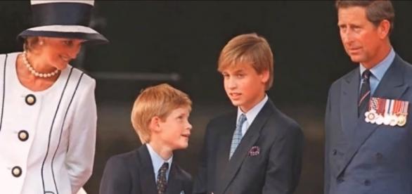 Prince Charles, Princess Diana, Prince William and Prince Harry / Photo via News 247 , YouTube