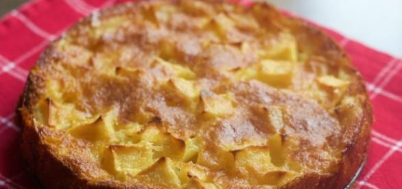 Torta di mele senza forno: una delizia!