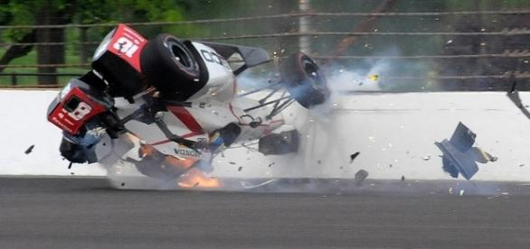 Acidente foi durante volta rápida do francês