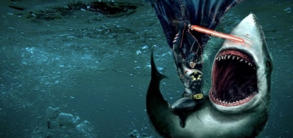 Batman lightsaber shark fighting by The-Antihero-Oookami on DeviantArt - deviantart.com