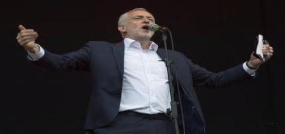 Corbyn receives rockstar welcome at Prenton Park...-guardian.co.uk