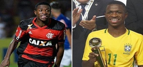 es la nueva estrella del fútbol brasileño con solo 16 años
