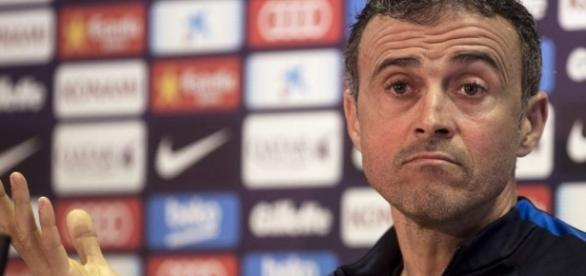 ¿Planea irse? Luis Enrique habló de su futuro en el Barcelona ... - laprensa.hn